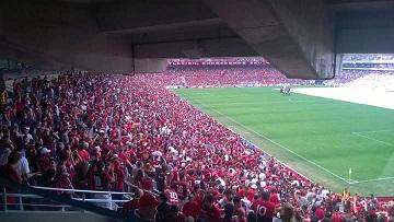 Mais de 25 mil torcedores acompanharam a partida [foto: arquivo]
